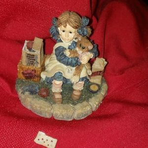 VINTAGE BOYDS BEARS YESTERDAYS CHILD DOLLSTONE